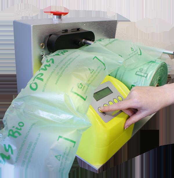 UNIQBAG airbag packaging : Opus Mini
